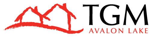 This image shows the official TGM Avalon Lake Logo.