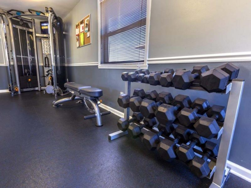 TGM Avalon Lake Apartments Fitness Gym 2